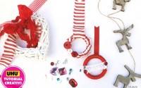 Tutorial-realizzare-piccole-semplici-ghirlande-di-Natale-con-anelli-di-legno-e-materiali-di-riciclo
