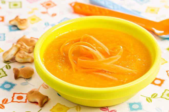 crema-carote-pollo-svezzamento-7-mesi