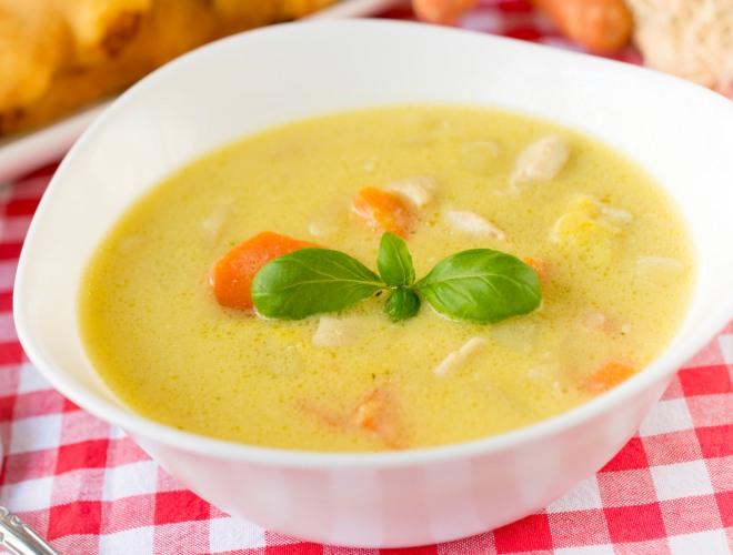 ricette-svezzamento-7-mesi-crema-pollo-carote