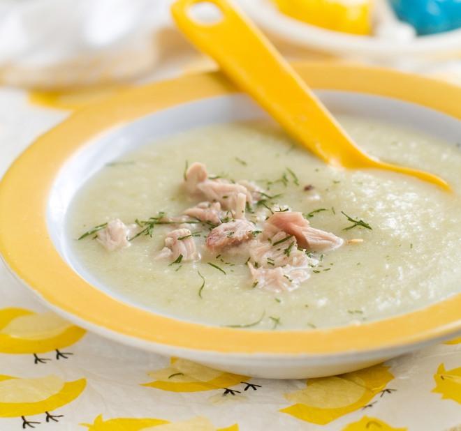 ricette-svezzamento-7-mesi-crema-pollo-zucchine