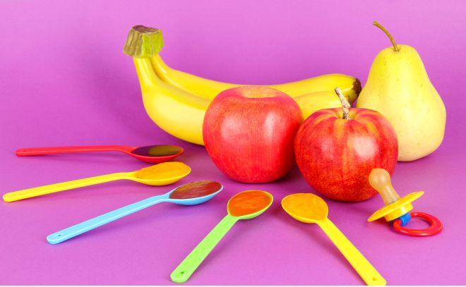 ricette-svezzamento-merenda-8-9-mesi-pure-frutta