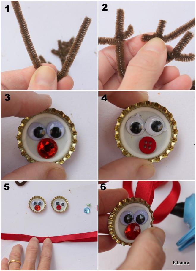 Come-creare-una-renna-da-appendere-con-tappi-in-metallo-nettapipe-e-bottoni.