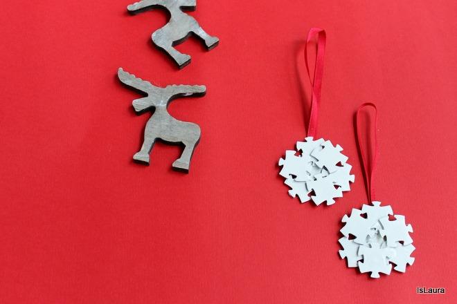 Come-fare-fiocco-di-Natale-con-i-puzzle.
