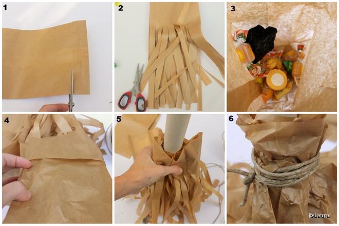 Come realizzare dei portacaramelle per la Befana