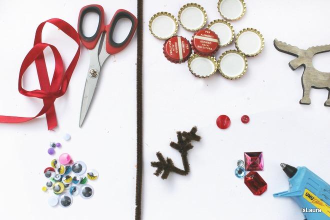 Come-realizzare-le-renne-Rudolph-con-i-tappi-metallici