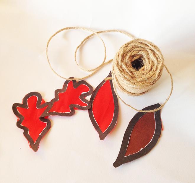 Ghirlanda-di-foglie-carta-velina-filo