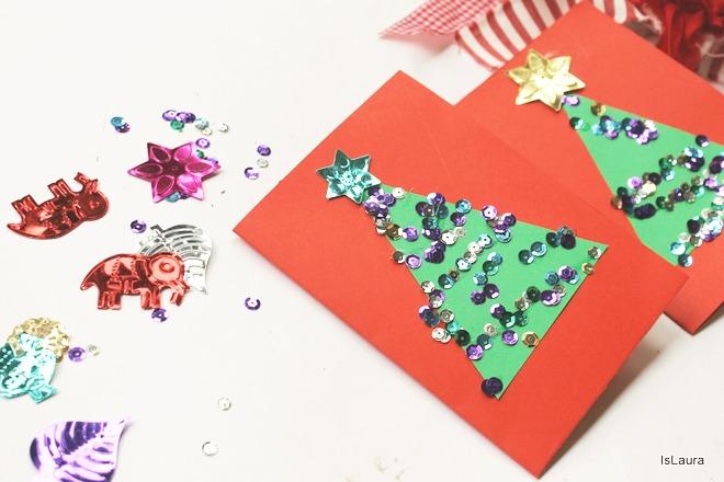 Tutorial-bigliettini-di-Natale-in-cartoncino-e-paillettes