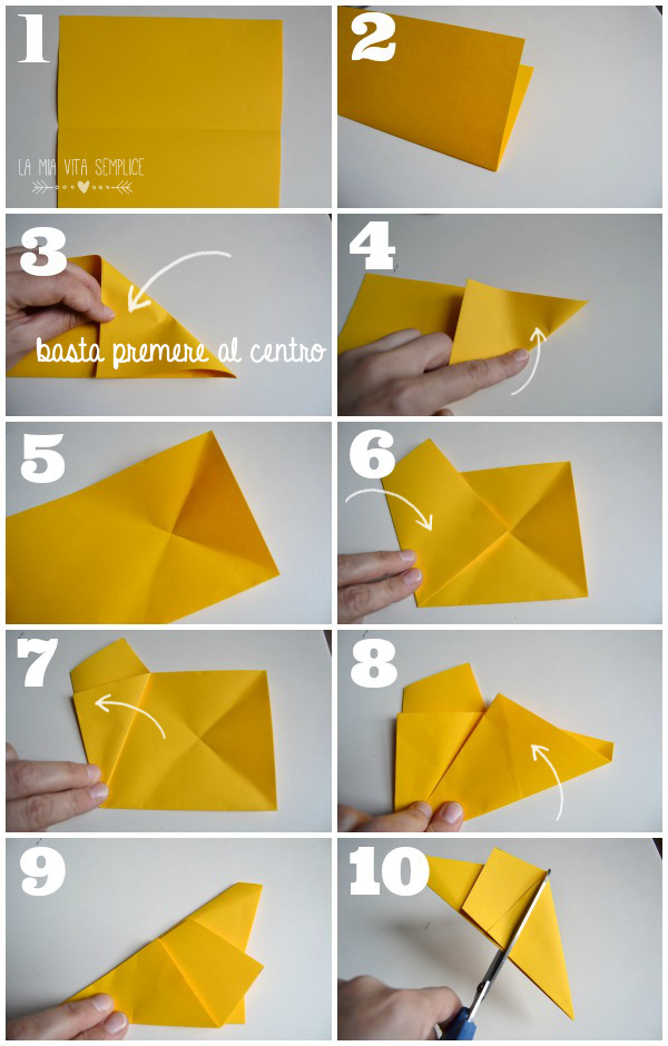 Tutorial stelle di carta