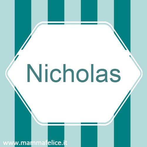 nomi-bambini-americani-nicholas