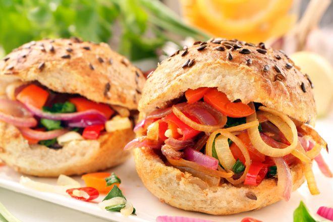 Famoso 12 ricette di panini vegan | Mamma Felice HJ72