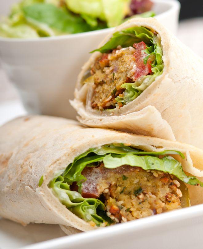 how to make falafal rolls