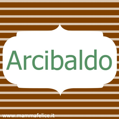 Arcibaldo