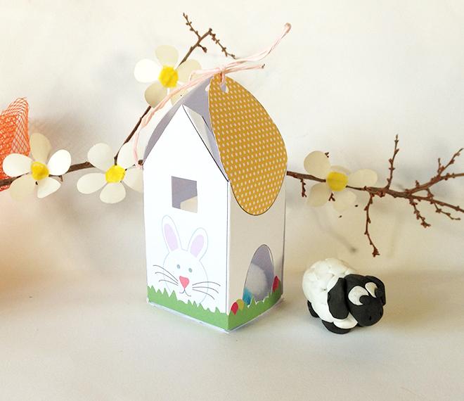 Come fare una casetta di pasqua porta uova mamma felice for Porta uova
