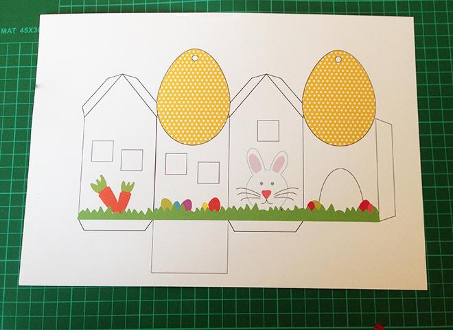 Come fare una casetta di pasqua porta uova mamma felice - Porta da colorare ...