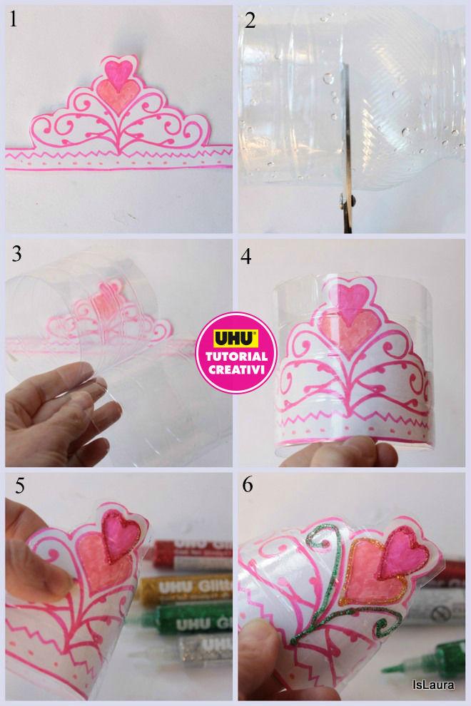 corona-con-colla-glue-glitter-UHU