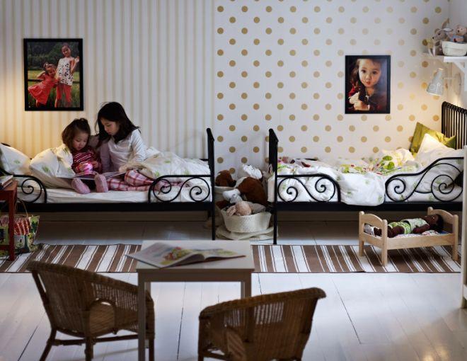 Cameretta in stile montessori con mobili ikea mamma felice - Chambre pour 2 filles ...