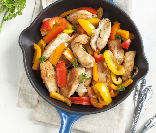 ricetta-pollo-ai-peperoni