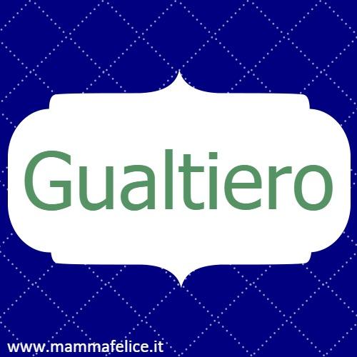 Gualtiero