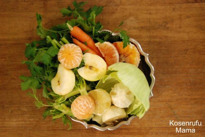 centrifugato frutta e verdura