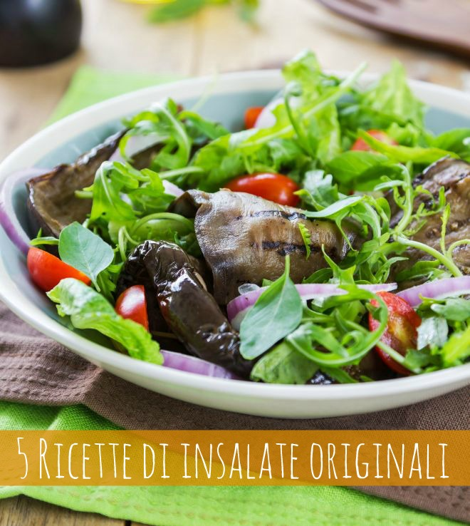 5 ricette di insalate originali mamma felice for Ricette originali