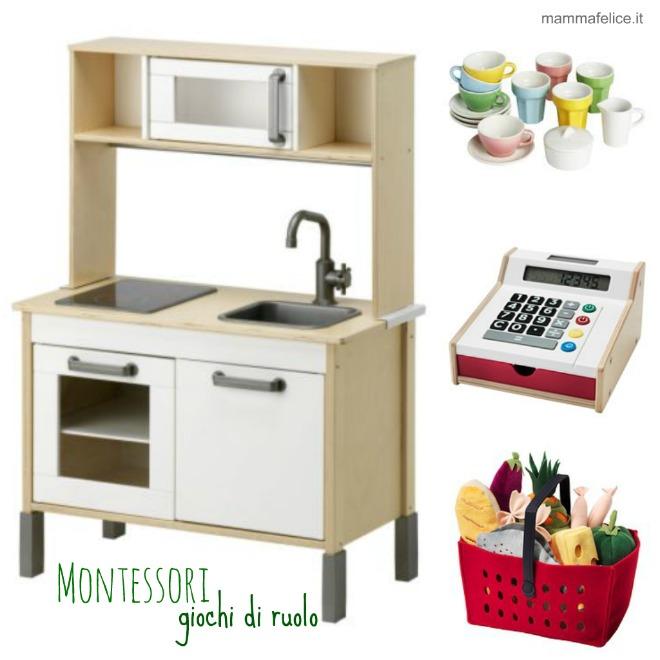 Giochi montessori da ikea mamma felice - Cucina in legno per bambini ikea ...