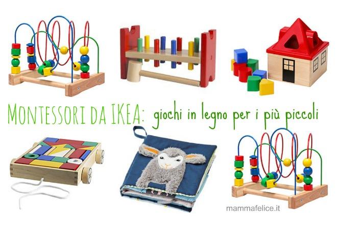 Giochi Montessori da IKEA | Mamma Felice