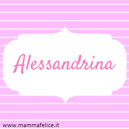 Alessandrina