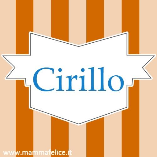 Cirillo