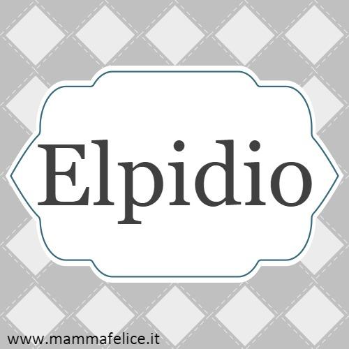 Elpidio