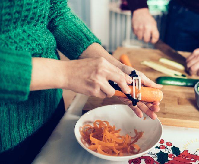 come-pulire-sbucciare-carote