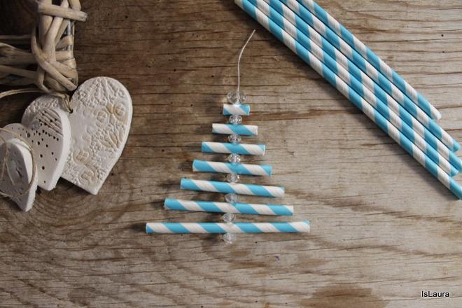 Estremamente Lavoretti di Natale con le cannucce | Mamma Felice PG78