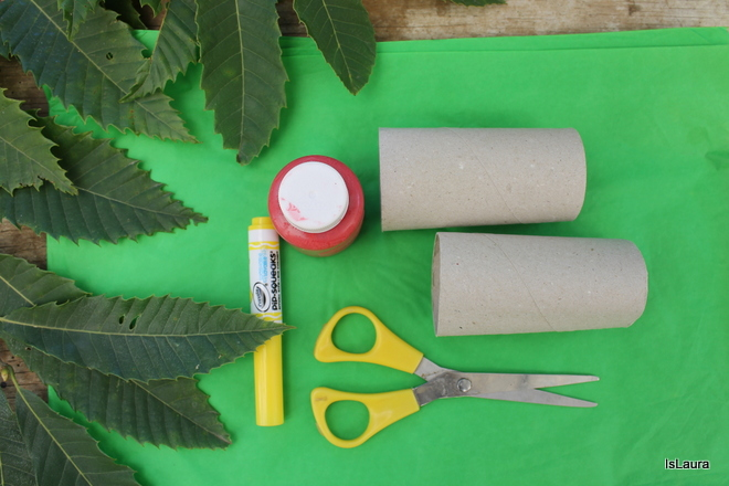 albero-delle-mele-con-tubo-della-carta-igienica-e-carta-velina