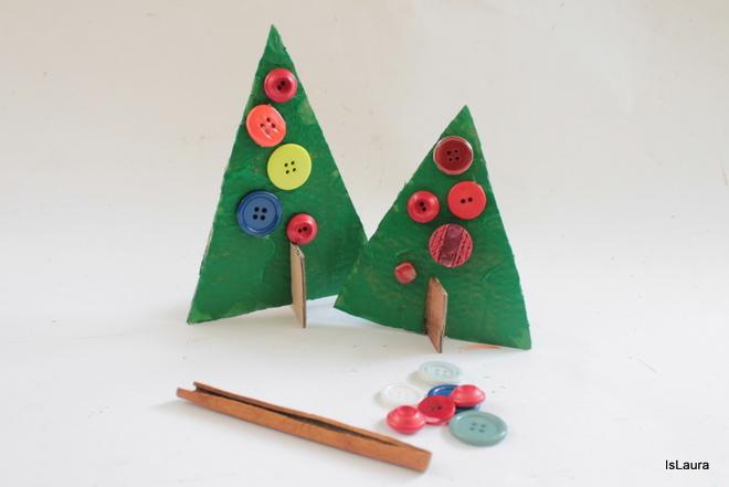 Popolare Lavoretti di Natale per bambini: alberelli in cartone | Mamma Felice ES63