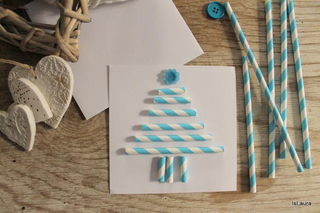 biglietto-di-Natale-con-cannucce-di-carta-