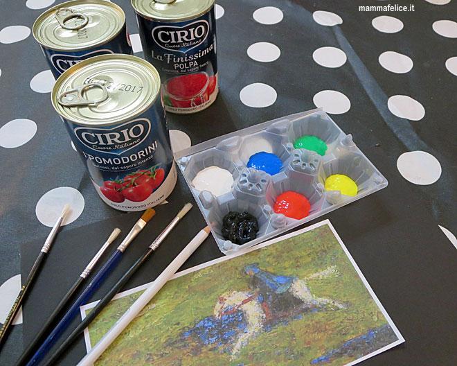 Super Dipingere con i bambini: il Cavaliere Azzurro | Mamma Felice SB36