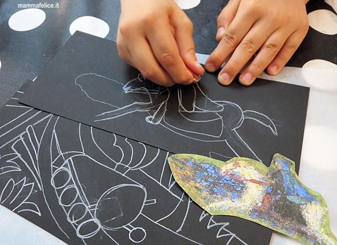 Assez Dipingere con i bambini: il Cavaliere Azzurro | Mamma Felice LP11