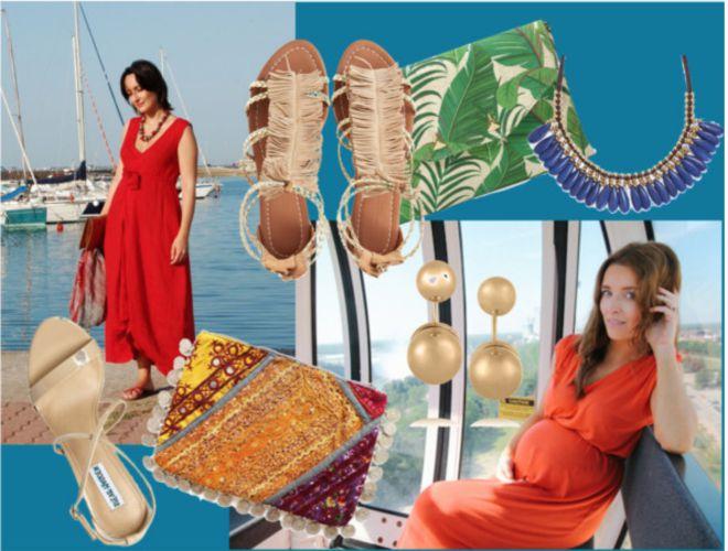 vestire-gravidanza-estate-maxidress
