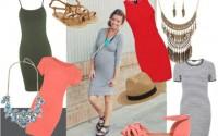 vestire-in-gravidanza-estate-tubino