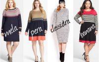 Come indossare un abito in maglia in base alla forma del corpo