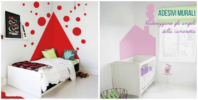 Come usare gli adesivi murali in cameretta mamma felice for Decorare una stanza per bambini