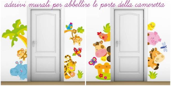 Come usare gli adesivi murali in cameretta mamma felice - Decorazioni muri camerette bambini ...