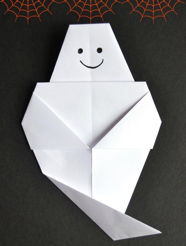 fantasma origami halloween