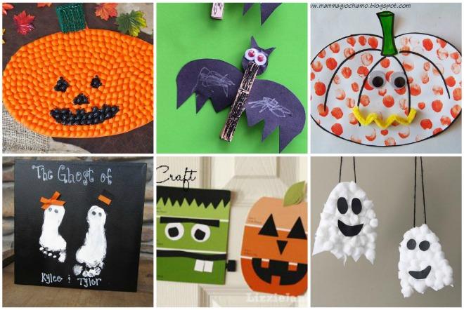 Extrêmement 30 lavoretti di Halloween per bambini | Mamma Felice QK61