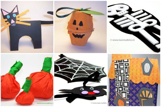 Famoso 30 lavoretti di Halloween per bambini | Mamma Felice JW32