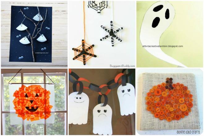 Extrêmement 30 lavoretti di Halloween per bambini | Mamma Felice VK62
