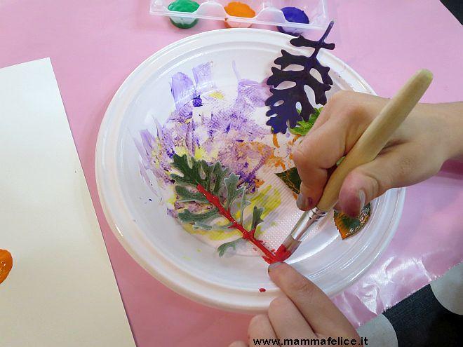 Lavoretti per bambini con fiori e foglie - Mammafelice