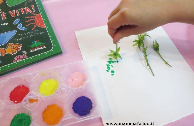 Assez Lavoretti per bambini con fiori e foglie | Mamma Felice LP11