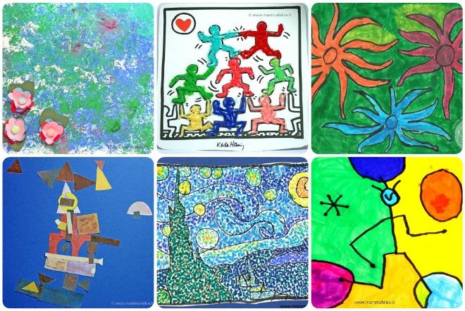 pittori-famosi-e-creatività-per-bambini