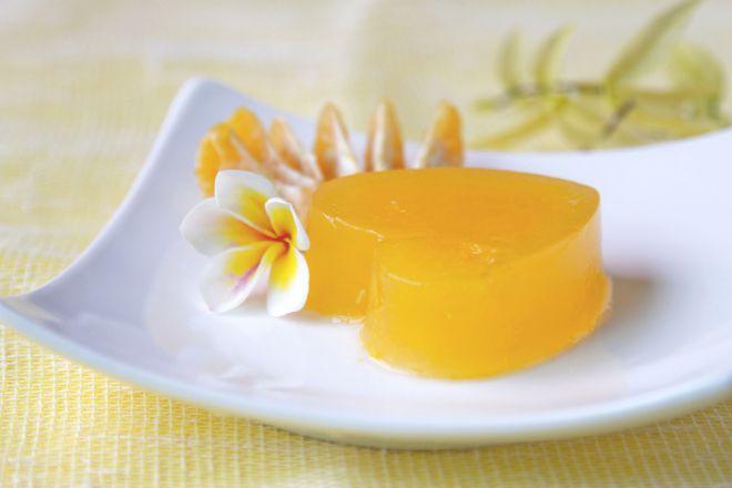 cena-raffinata-elegante-gelatina-mandarino-prosecco