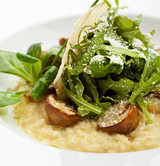 cena-raffinata-elegante-risotto-porcini